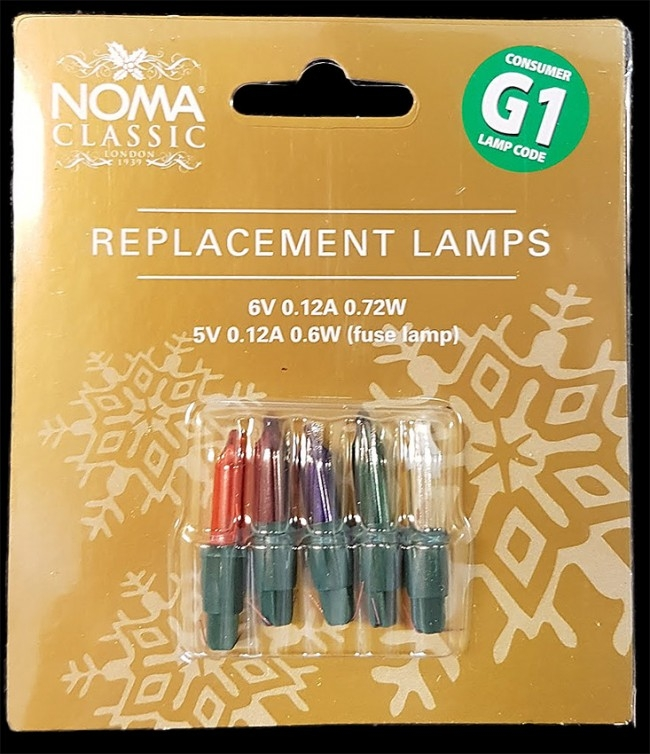 Replacement Christmas Lamps