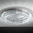 Eglo 39014 CORLIANO LED Sparkling Glass Crystals Ceiling Light