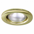 Eterna R50 Brass down light Mains 240v 40w max 65mm hole cut out