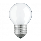 Philips 40W 230V ES E27 Opal Round Golf Ball Dimmable Light Bulb