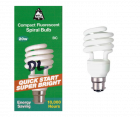 Bell Lighting Compact Fluorescent 20w BC B22 Spiral Bulb (DAYLIGHT)