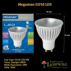 Megaman Led Gu10 6w 6500k Daylight Finish