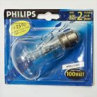 Philips 100W 240V BC B22 Clear Krypton Light Bulb, Dimmable