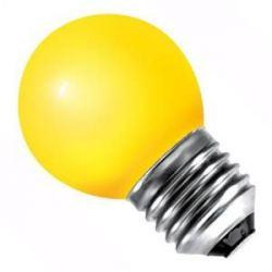BELL LED 1W 240V ES E27 Amber Outdoor Round 45mm Light Bulb