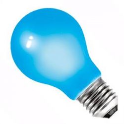 BELL 01525 - 25W 240V ES E27 GLS Blue Coloured Outdoor Light Bulb