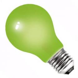 BELL 01527 - 25W 240V ES E27 Green Coloured GLS Bulb