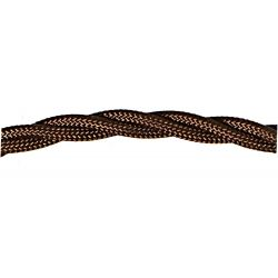 Twisted T-T Braided Flex 3 core 0.5mm Bronze Cable