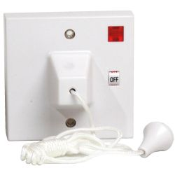 45A DP Ceiling switch 1 way + Neon