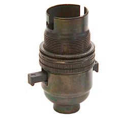 BC Lampholder ½ inch Switched Bronze
