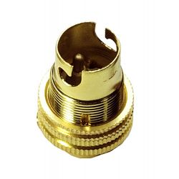 SBC Lampholder ½ inch Brass