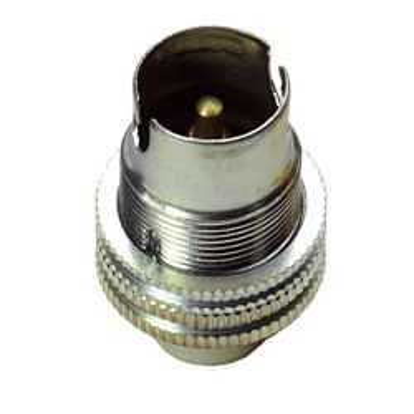 SBC Lampholder ½ inch Nickel