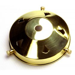 3¼ inch Polished Brass Gallery 10mm hole