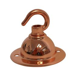 Ceiling Hook-plate Copper 2½ inch Ø