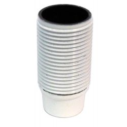 Continental Lampholder 10mm SES Threaded Skirt White