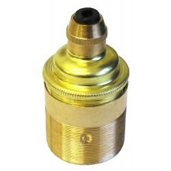 Continental L/holder ES Brass Threaded Skirt with Cordgrip