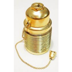 Pull Chain L/H 10mm ES Brassed