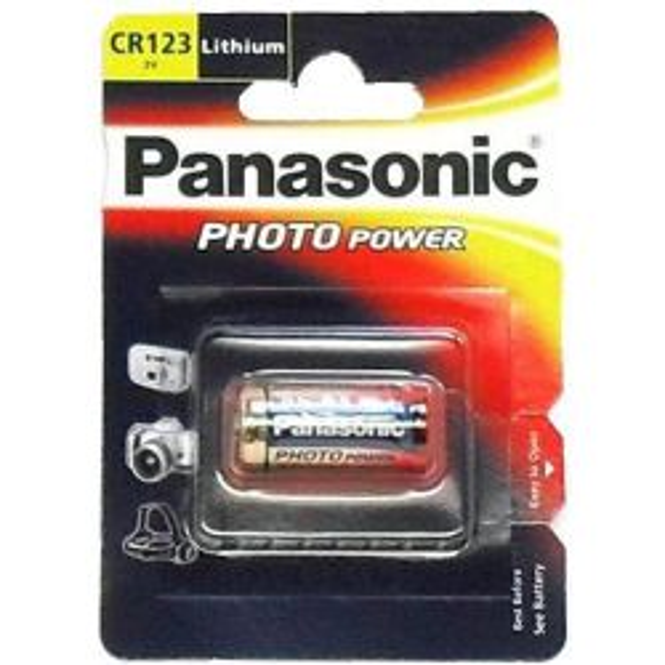 CR123 Camera Battery