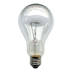 Leuci 200W E27 Light Bulb Clear GLS A67 Warm White Dimmable