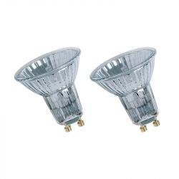 Neolux 35W 230V 35° GU10 230 lm Warm White Halogen Spot Lamps Twin Pack