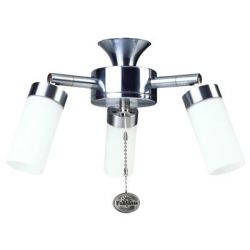 Fantasia 220954 Ceiling Fan Light - Sparta 3 Light Cluster Stainless Steel