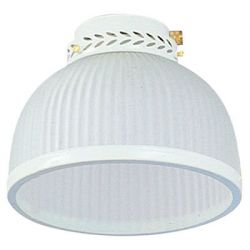 Fantasia 221623 Ceiling Fan Light - Dome White