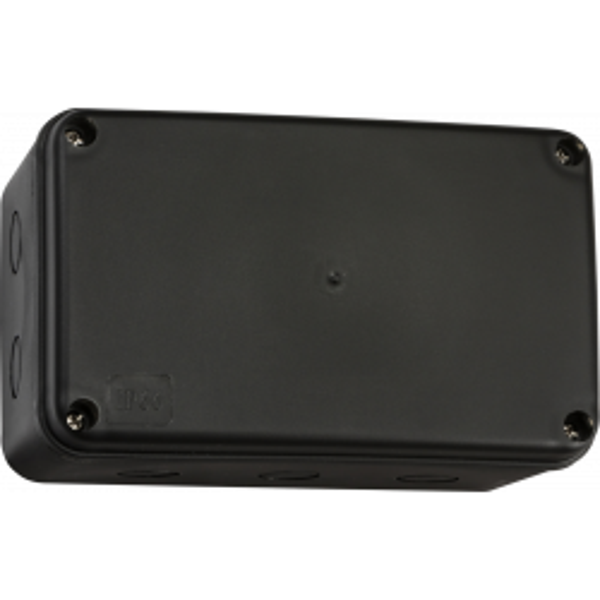 Knightsbridge JB009BK Black Weatherproof Large Enclosure Multiple Entries IP66 IK06 230V