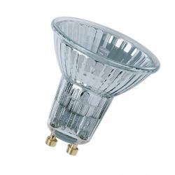 Osram 64824 FL 50W 240V 35° GU10 Halogen Flood Spot Lamp Twin Pack