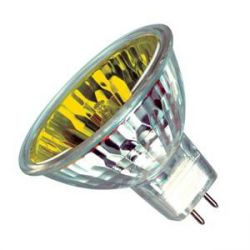 Casell 20W 12V MR11 35mm 10° Dichroic Yellow Spot Lamp