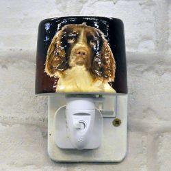 Cocker Spaniel Ceramic Plug-in Night Light