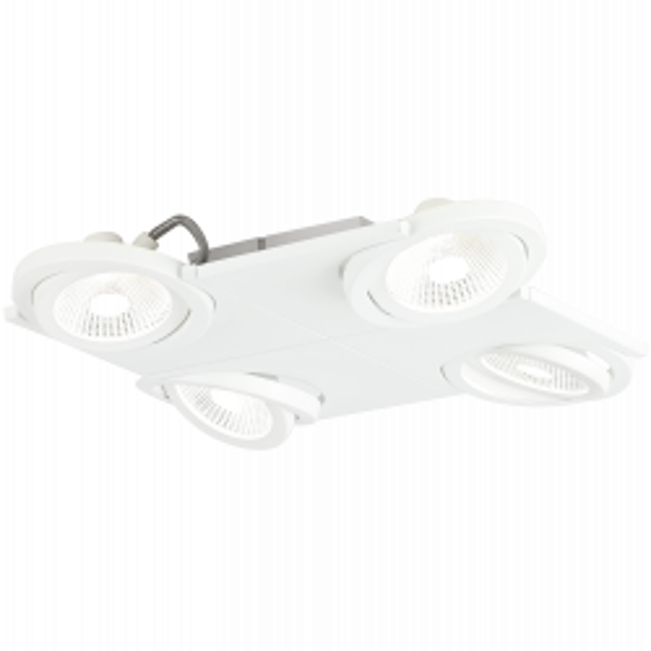 Eglo 39136 BREA LED Steel Aluminium Multi Spot Light