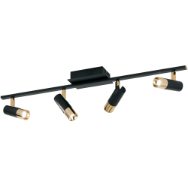 Eglo 39147 TOMARES LED Aluminium Multi Headed Spot Light