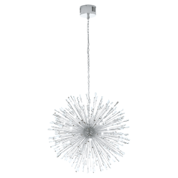 Eglo 39262 VIVALDO 1 LED Cluster Chrome Crystal Ceiling Pendant