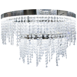 Eglo 39281 ANTELAO LED Cluster Chrome Clear Ceiling Pendant