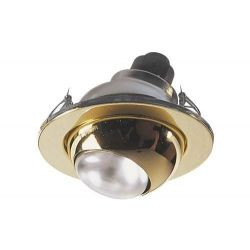 Eterna Brass Plated R50 SES 40W 230V Eyeball Downlight