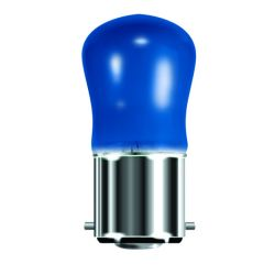 BELL 02550 15W Small Sign Pygmy Light Bulb BC B22, Blue