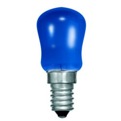 BELL 02621 15W Small Sign Pygmy Light Bulb - SES E14, Blue