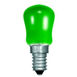 BELL 02622 15W Small Sign Pygmy Light Bulb - SES E14, Green