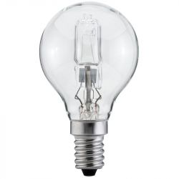 Luminizer 42W = 55W Nearly 60W SES/E14 Energy Saver Halogen Round Clear Golf Ball 2000hr