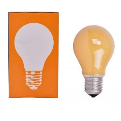Leuci 40W 240V ES E27 Dimmable Orange Coloured GLS Light Bulb