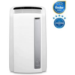 De'Longhi Pinguino PACAN112 Silent | Portable Air Conditioner with Real Feel Technology | 110m³, 11,000 BTU, A+ Energy Efficiency [Energy Class A+]