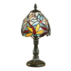Interiors 1900 TMINSH2-TMB2 Tiffany Lorette Mini Table Lamp