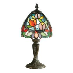 Interiors 1900 TMINSH1-TMB1 Tiffany Sylvette Mini Table Lamp