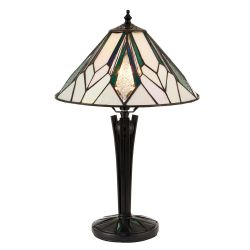 Interiors 1900 T026SH30-68442 Tiffany Astoria Small Table Lamp