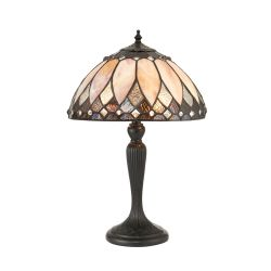 Interiors 1900 67932-67933 Tiffany Brooklyn Small Table Lamp