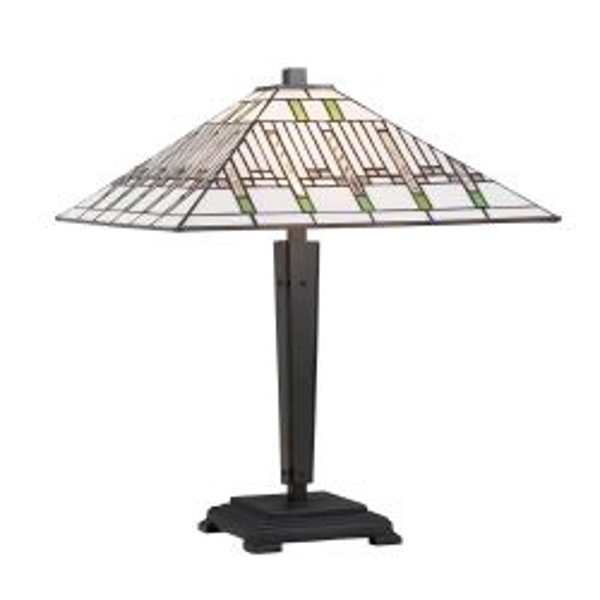 Interiors 1900 68750-70474 Tiffany Mission Medium Table Lamp