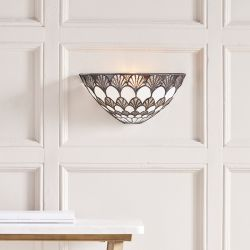 Interiors 1900 69362-WF1 Tiffany Missori Wall Light