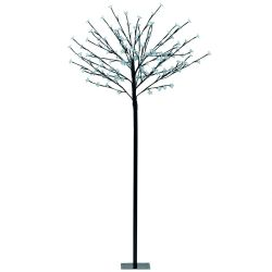 Eglo 75031 Indoor/Outdoor 1.5m 5ft Cool White LEDs Black Tree Post Light