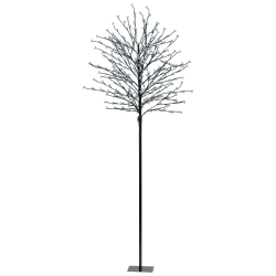 Eglo 75041 Indoor/Outdoor 2.1m 7ft Cool White LEDs Black Tree Post Light