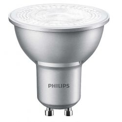 Philips Master 4.3W=50W DImmable LED GU10 Spot Bulb, Cool White