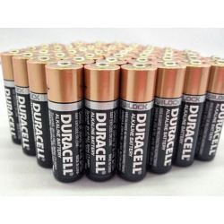 12x Duracell Plus Power AA Alkaline Batteries 5+3 Pack 96 pcs